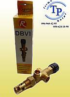 Двухходовой защитный клапан Regulus DBV-1 для твердотопливного котла