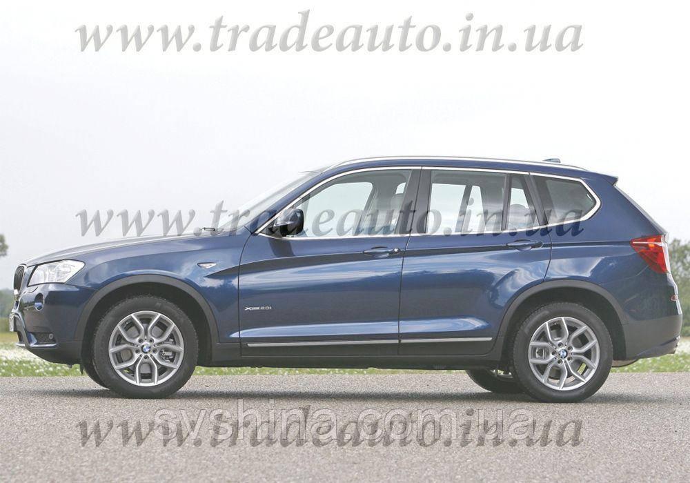 Дефлекторы окон Heko на BMW  X3 F 25 2011 ->