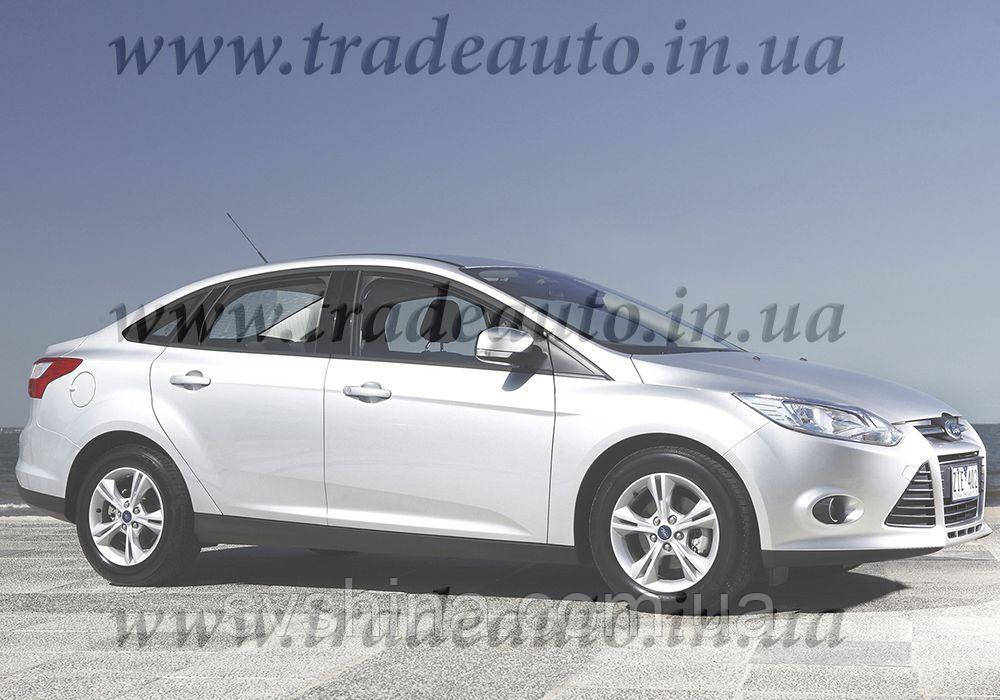 Дефлекторы окон Heko на Ford  Focus 2011 ->