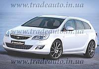 Дефлекторы окон Heko на Opel  Astra J 2009 ->