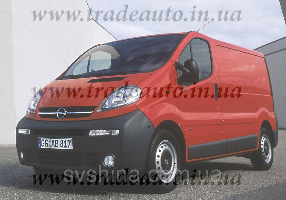 Дефлекторы окон Heko на Opel  Vivaro 2001-2010