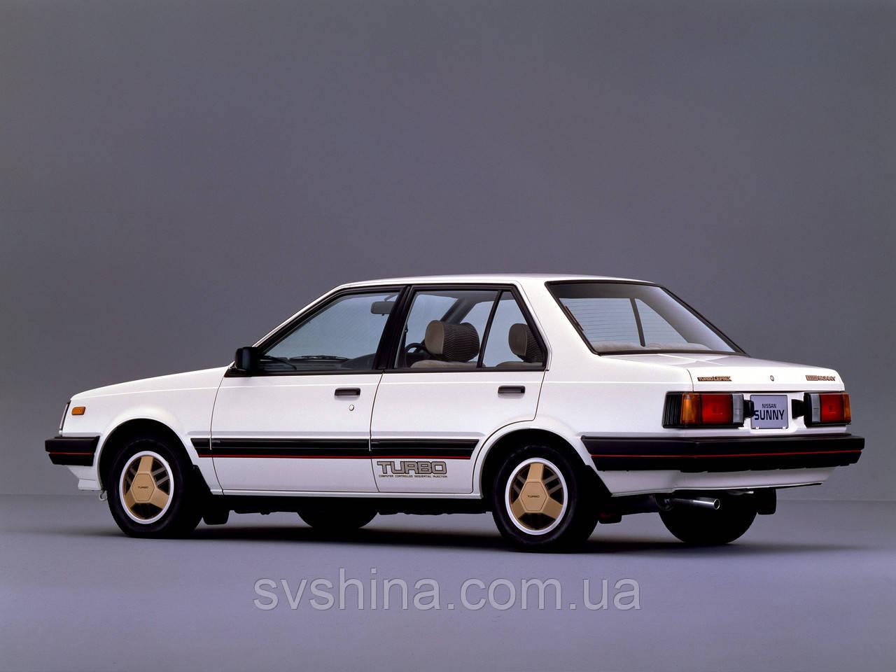 Дефлекторы окон Heko на Nissan  Sunny (B11) 1981-1986