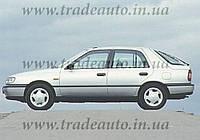 Дефлекторы окон Heko на Nissan  Sunny DX 1986