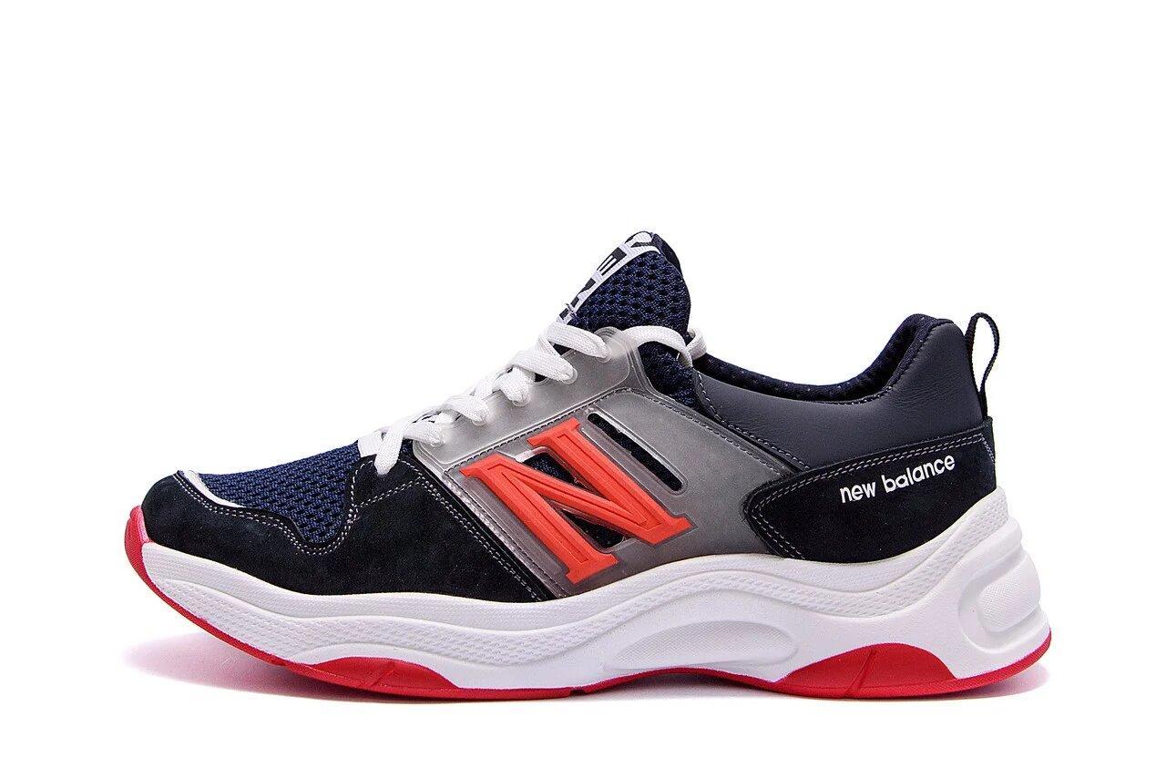 Чоловічі літні кросівки сітка New Balance (репліка) р. 40 42 43