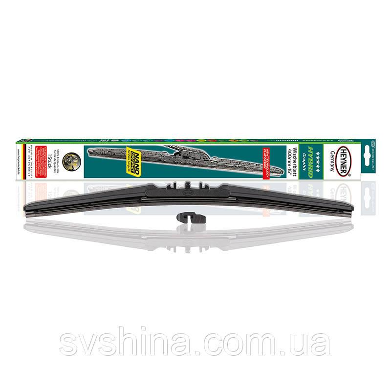 Щетка стеклоочистителя (дворник) Heyner Hybrid 400mm, гибридная, 026000