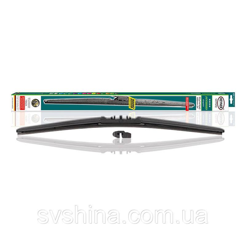 Щетка стеклоочистителя (дворник) Heyner Hybrid 600mm, гибридная, 034000