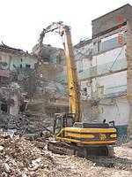 Демонтажные работы Киев (044) 5318875. Разрушение, снос строений, домов.