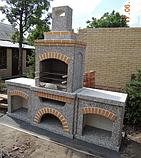 """Бетонный стол для уличного камина-барбекю """"Манчестер"""" №1, фото 7"""