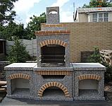 """Бетонный стол для уличного камина-барбекю """"Манчестер"""" №1, фото 8"""