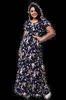 Платье женское макси Bon Voyage с завышенной талией D5999S-3