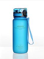 Бутылка для воды Uzspace Blue 650 мл Синяя