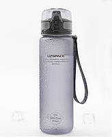 Бутылка для воды Uzspace Grey 1000 мл Серая