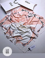 Брендовый шёлковый платок в коробке