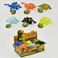 Игрушка -антистресс Лягушки, цена за блок 18 штук в блоке SKL11-182944