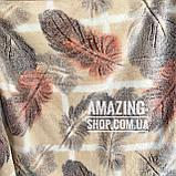 Покривало плед з бамбукового волокна Розмір 200*220 см, фото 3