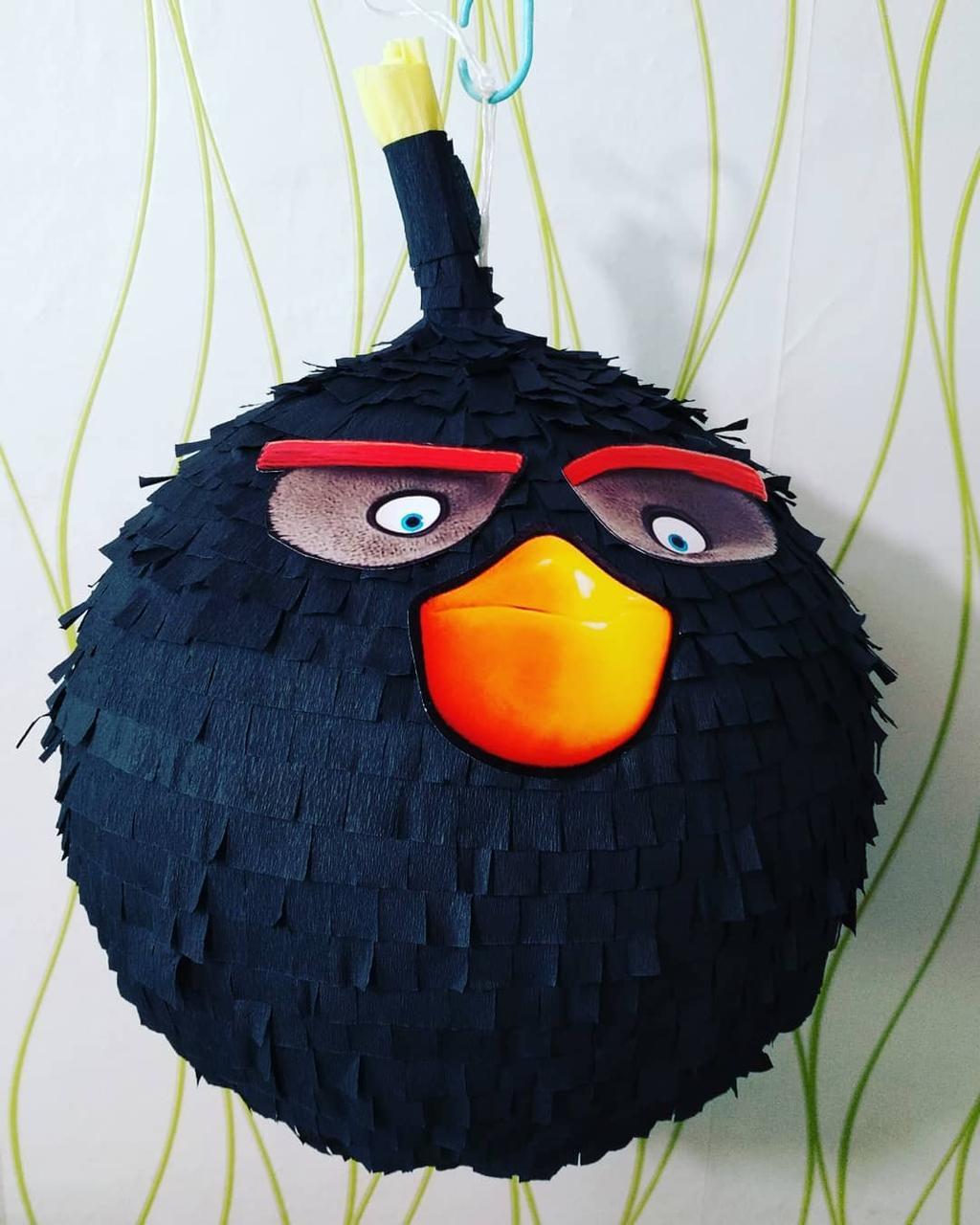 Піньята - Angry Birds Енгрі Бердс. Є розміри. Медаль в ПОДАРУНОК .