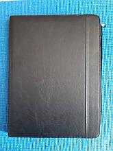 Папка для документов черная - размер 35*26см, кожезаменитель