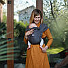 """ЛавТай """"Граніт"""" С рождени Шарфомай Love & Carry Слинг для переноски новорожденных детей не Кенгуру"""
