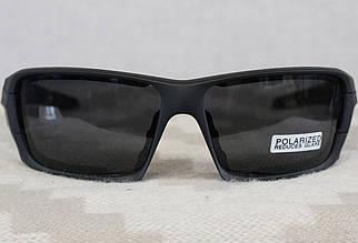 Очки тактические, темные ESS, 4 линзы в комплекте - реплика (okESS)
