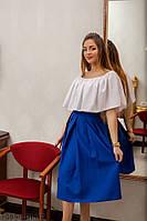 Жіноча спідниця Подіум Eleve 10898-LIGHT/BLUE XS Голубий
