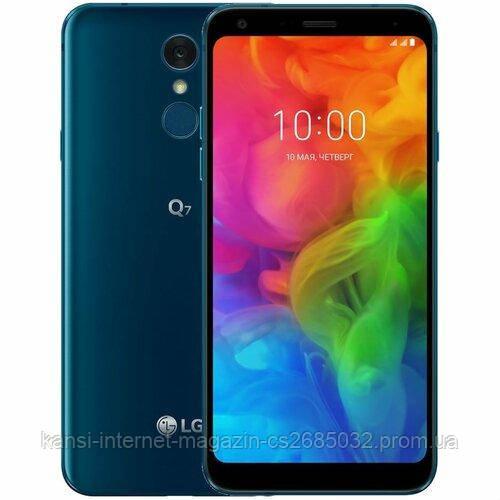 Мобильный телефон LG Q7 3/32GB  Blue
