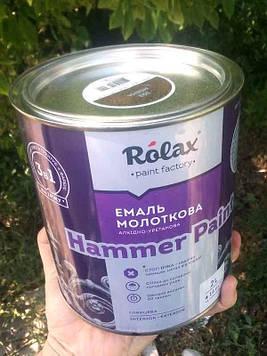 Эмаль молотковая текстурная Hammer 303 медь 2л Ролакс