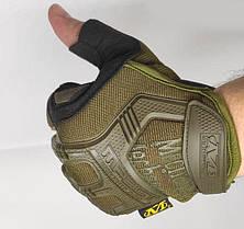 Тактические перчатки Mechanix (Беспалый). - Khaki M (m-pact1-olive), фото 2