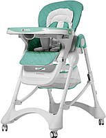 Детский стульчик для кормления Carrello Caramel (зеленый цвет)