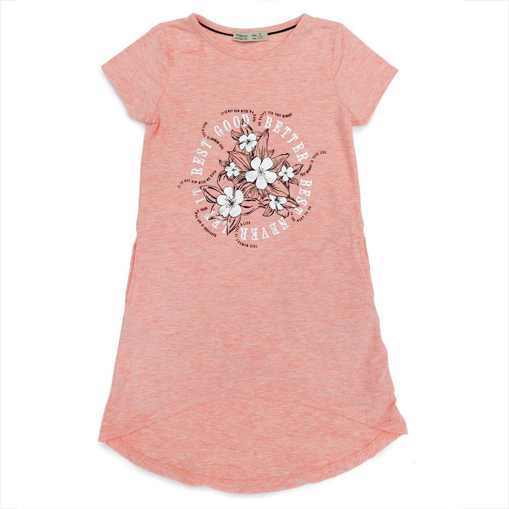 Платье для девочек Toontoy 110  розовое 10709