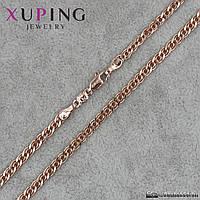 Цепочка Xuping Jewelry (позолота)  красный оттенок