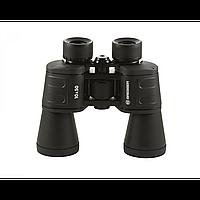 Бинокль постоянной кратности BRESSER 10x50 универсальный для наружного наблюдения.Высокое качество оптики