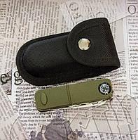 """Складной """"швейцарский"""" нож К 1016. В комплекте: многофункциональный нож, набор бит, чехол, фото 1"""