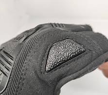 Тактические перчатки Mechanix (Беспалый). -Black (m-pact1-black-L), фото 3