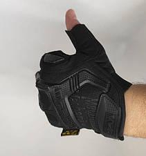 Тактические перчатки Mechanix (Беспалый). -Black (m-pact1-black-L), фото 2