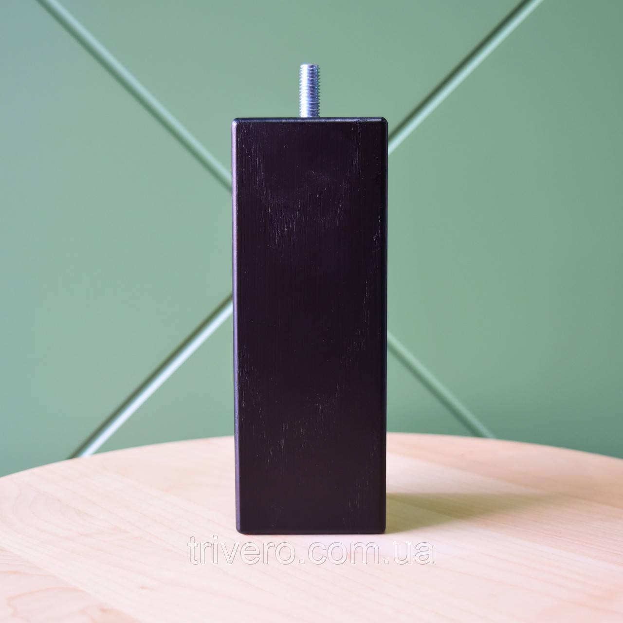NM-06. Мебельные ножки и опоры деревянные квадратные H.150 D.55*55