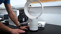 Безлопастной настольный вентилятор Hilton с пультом. Диаметр 25см. + пульт.. Холодный, гарячий воздух., фото 1