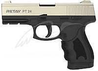 Пистолет стартовый Retay PT24. Цвет -satin., фото 1