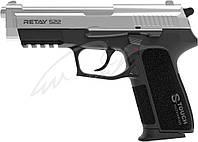 Пистолет стартовый Retay S22. Цвет -nickel., фото 1