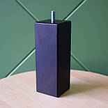 NM-06. Мебельные ножки и опоры деревянные квадратные H.150 D.55*55, фото 3