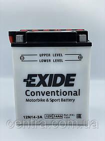 Мото аккумулятор EXIDE 12N14-3A