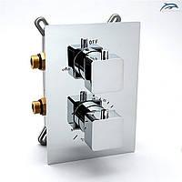 Термостатичний змішувач для душу прихованого монтажу KVTB-02.