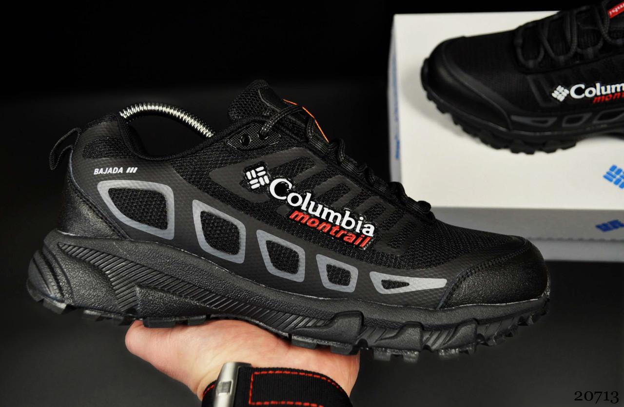 Кроссовки Columbia Montrail арт 20713 (мужские, черные)