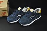 Кроссовки New Balance 574 арт 20703 (женские, синие), фото 5