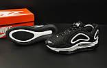 Кроссовки Nike Air Max 720 арт 20682 (черные, найк), фото 3