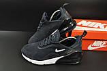 Кроссовки Nike Air Max 270 арт.20647 (мужские, синие, найк), фото 2