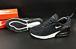 Кроссовки Nike Air Max 270 арт.20647 (мужские, синие, найк), фото 3