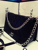 Сумка Chanel Шанель Ля Бой 27см Черная , Белая , фото 1