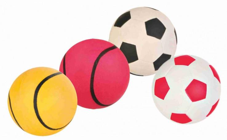 Игрушка для собак trixie мяч резиновый, 4,5 см