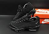 Кроссовки Nike Air Max 95 арт 20641 (мужские, черные, найк), фото 2