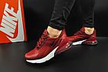 Кроссовки Nike Air Max 270 арт 20630 (женские, бордовые, найк), фото 8